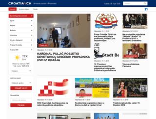 croatia.ch screenshot