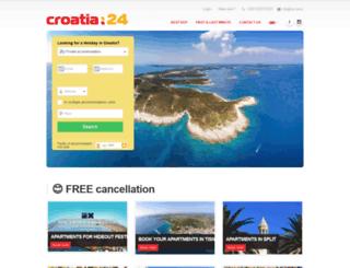 croatia24.travel screenshot