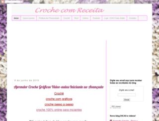 crochecomreceita.com screenshot