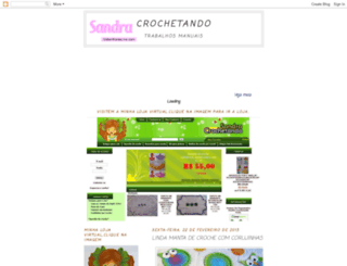 crochesandra.blogspot.com screenshot