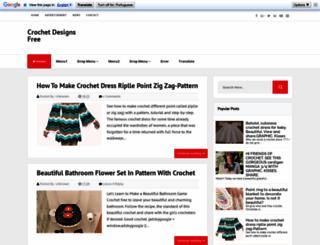 crochetdesignsfree1.blogspot.com.br screenshot