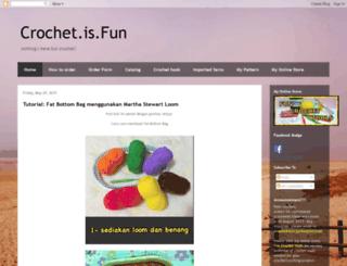 crochetisfun-amani.blogspot.com screenshot