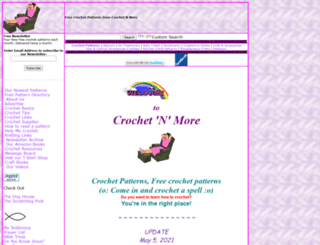crochetnmore.com screenshot