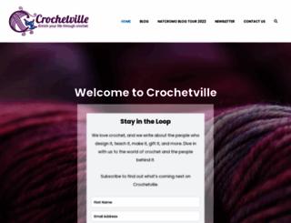 crochetville.com screenshot
