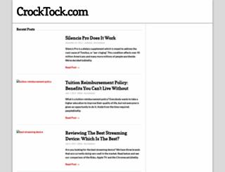 crocktock.com screenshot