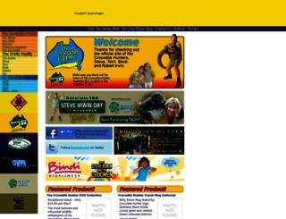 crocodilehunter.com screenshot