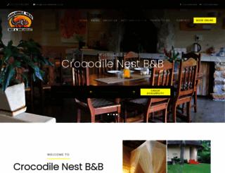 crocodilenest.co.za screenshot