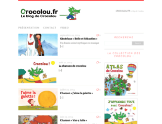 crocolou.fr screenshot