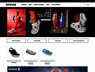 crocs.com.ph screenshot