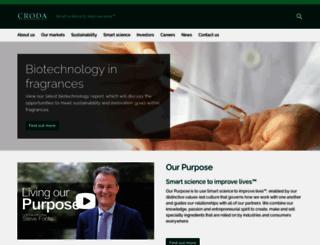 croda.com screenshot