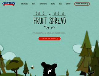 croftersorganic.com screenshot