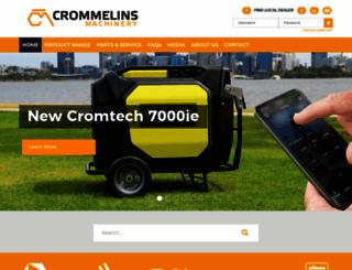 crommelins.com.au screenshot
