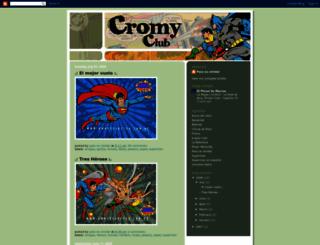 cromy.blogspot.com screenshot