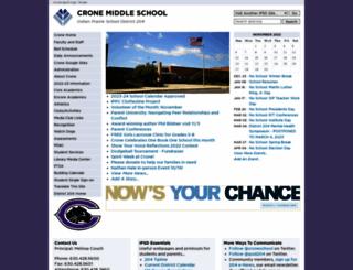 crone.ipsd.org screenshot