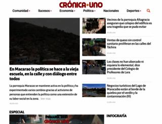 cronica.uno screenshot