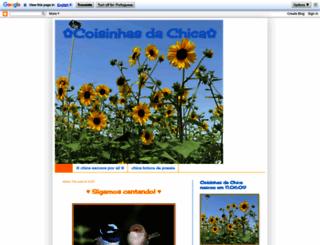 cronicasdachica.blogspot.com.br screenshot