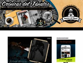 cronicasdeltanato.wordpress.com screenshot
