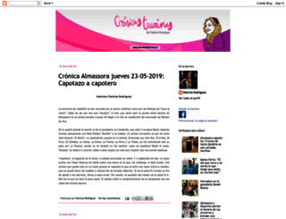 cronicastaurinas.blogspot.com screenshot