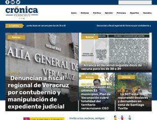cronicaveracruz.com screenshot