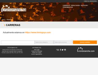 cronomancha.com screenshot