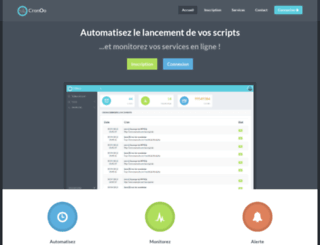 cronoo.com screenshot