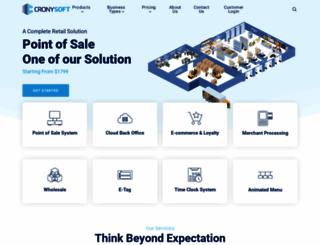 cronysoft.com screenshot