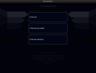 crookedbrains.net screenshot