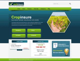 cropinsure.com.au screenshot