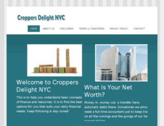 croppersdelightnyc.com screenshot