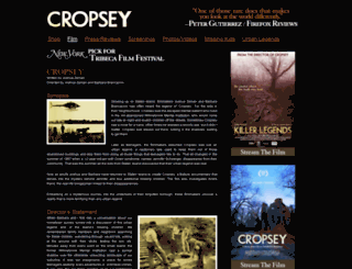 cropseylegend.com screenshot