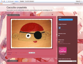 crosetatebydana.blogspot.ro screenshot