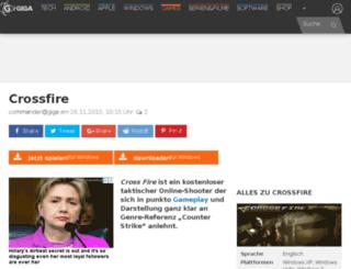 cross-fire.funload.de screenshot