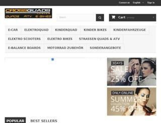 cross-quad.de screenshot