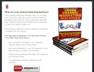 crosschannelmarketingmachines.com screenshot
