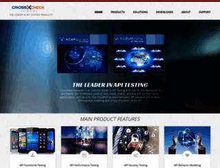 crosschecknet.com screenshot