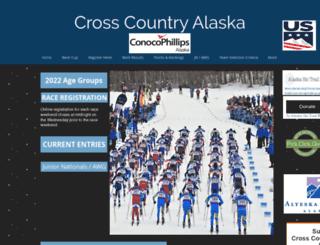 crosscountryalaska.org screenshot