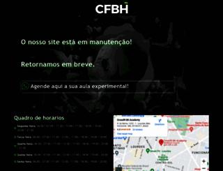 crossfitbh.com.br screenshot