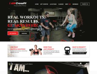 crossfitgables.net screenshot