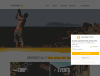 crossgolf.de screenshot