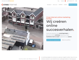 crossinternetmarketing.nl screenshot