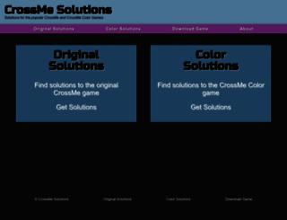 crossmesolutions.com screenshot