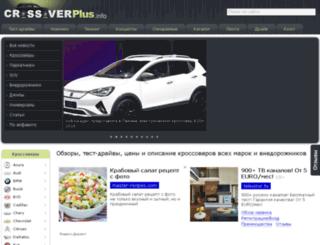 crossoverplus.info screenshot