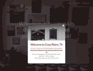 crossplainschamberofcommerce.com screenshot