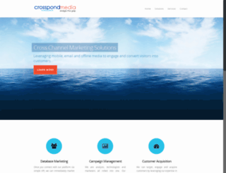 crosspondmedia.co.uk screenshot