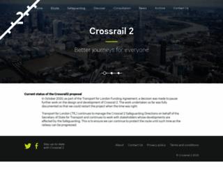 crossrail2.co.uk screenshot