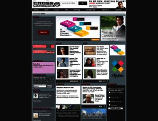 crossrhythms.co.uk screenshot
