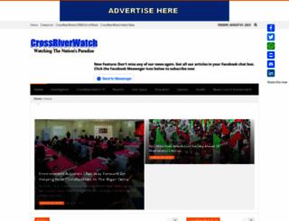 crossriverwatch.com screenshot