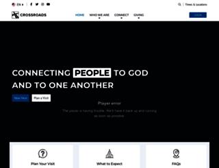 crossroadschristian.org screenshot