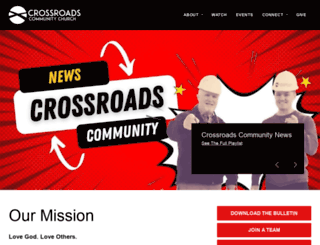 crossroadscny.org screenshot