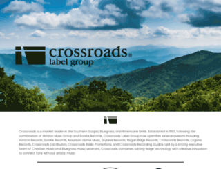 crossroadsmusic.com screenshot